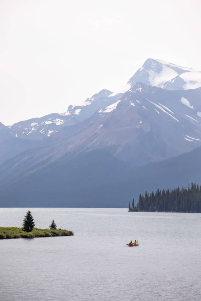 Maligne Lake Hiking Trails in Jasper National Park