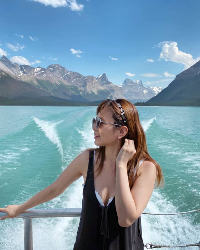 Maligne Lake Boat Cruise