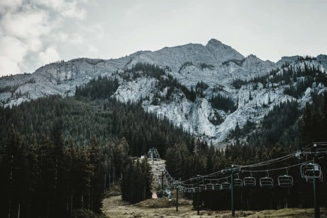 Mount Norquay Chairlift Banff