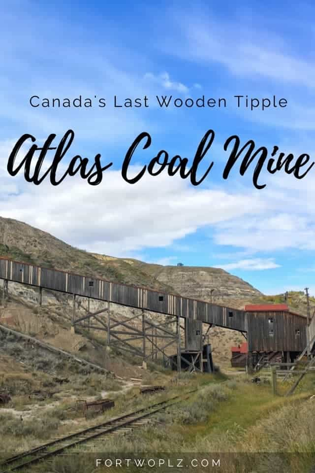 Curious about what life was like for miners? Then you must visit the Atlas Coal Mine. It will take you back in time with a glimpse into life as a coal miner in Drumheller, Alberta.