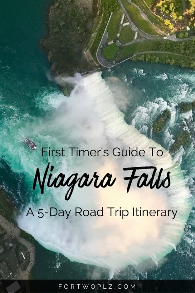 Niagara Falls is a popular summer road trip destination in Canada. From Toronto, there are so many great things to do and places to eat! Click through to get access to a complete 5 day itinerary! #canadaroadtrip#ontario #niagarafalls #toronto#travelguide#canada #bucketlist #tripplanning