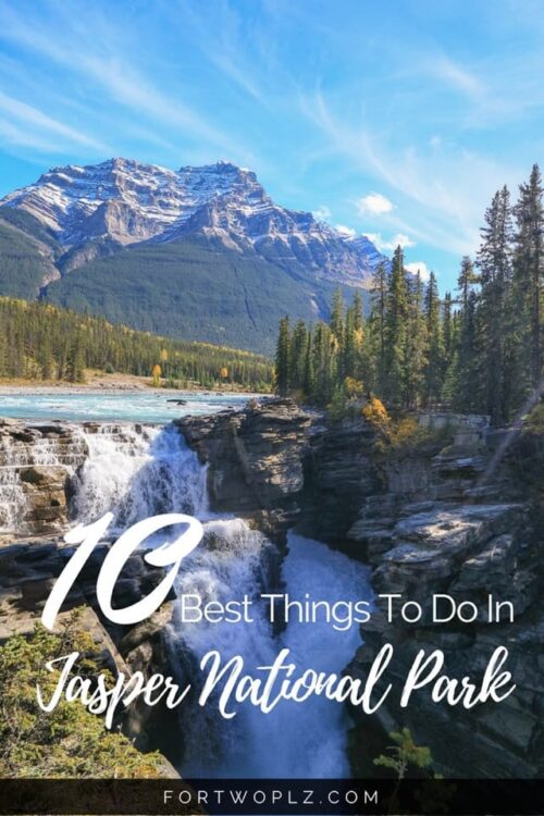 Planning a road trip to the Canadian Rockies? Don't miss out Jasper National Park! If you don't know what to do in Jasper, check out these 10 activities!