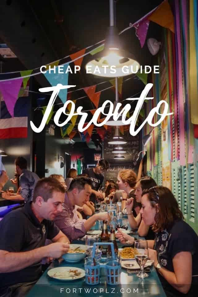 Looking for cheap eats in Toronto? Check out these best food for under $20.