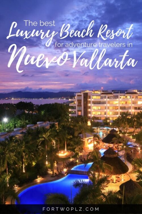Marival Residences Luxury Resort: Nuevo Vallarta's best all-inclusive beach resort for a five star holiday. It offers a quiet oasis for adventure travelers.