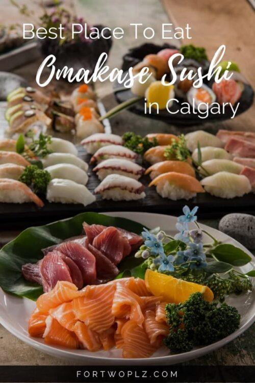omakase sushi Calgary
