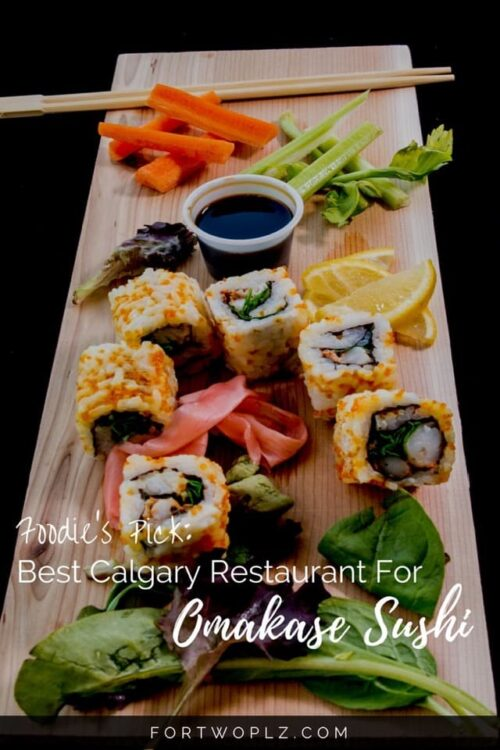 Looking for true omakase sushi dinner? Goro+Gun is the best Japanese restaurant in Calgary for a traditional omakase experience with sake pairing!
