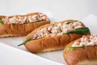 traditional Nova Scotian lobster rolls