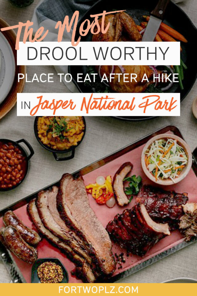 the most drool worthy place to eat in jasper national park