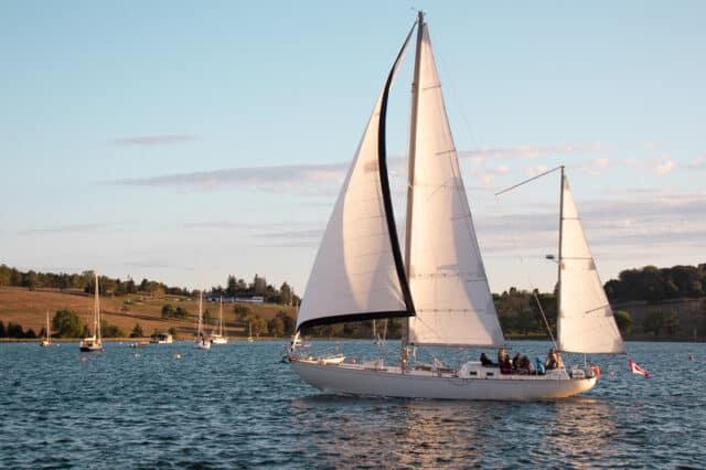 sailing at Lunenburg Nova Scotia