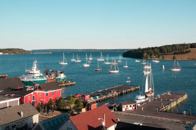 Lunenburg waterfront Nova Scotia