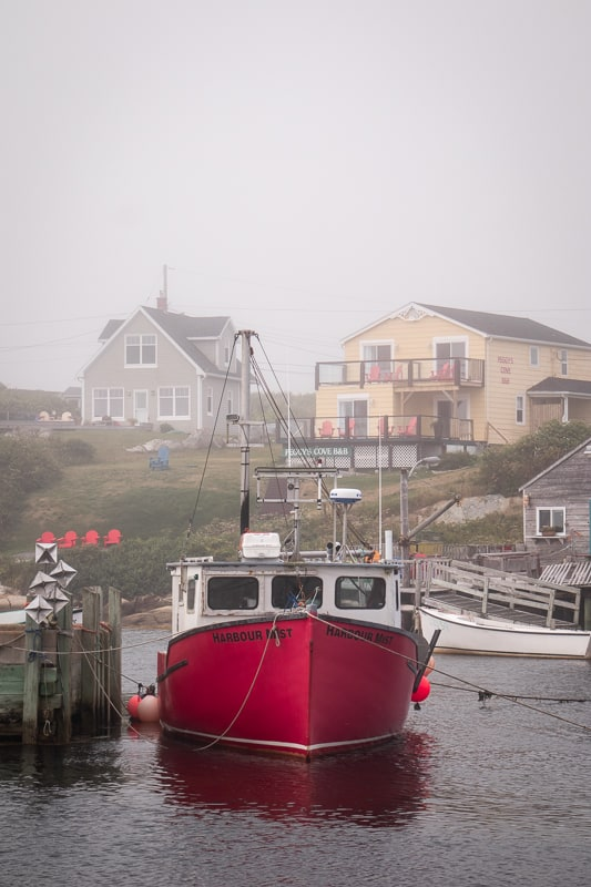 fish village at peggy's cove