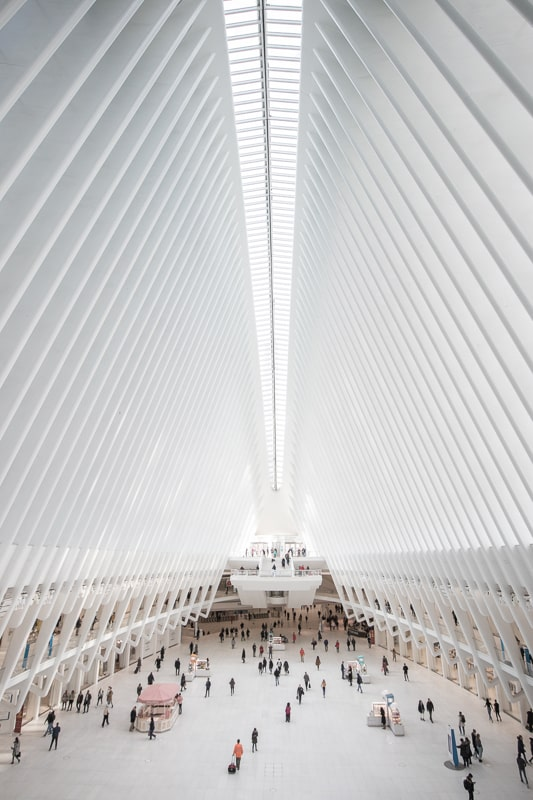 Oculus World Trade Center NYC