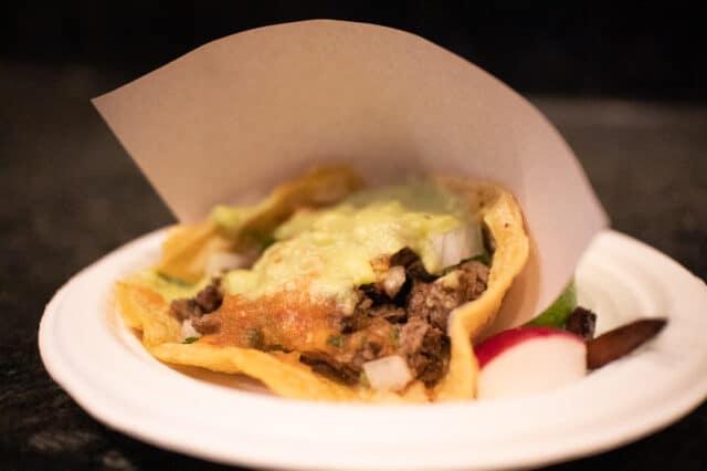 los tacos at chelsea market in NYC
