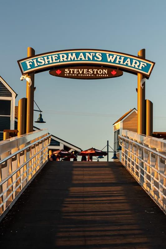 Steveston Fisherman's Wharf, Richmond, BC