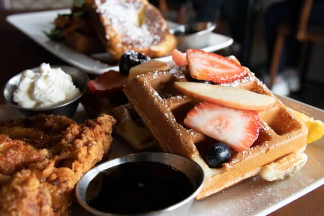 Brunch at The Story Cafe, Richmond, BC