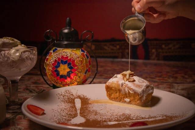 desserts at afghan kitchen in surrey bc